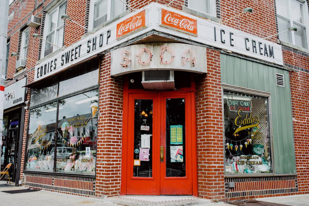 Eddie's Sweet Shop, photo by Julius Motal