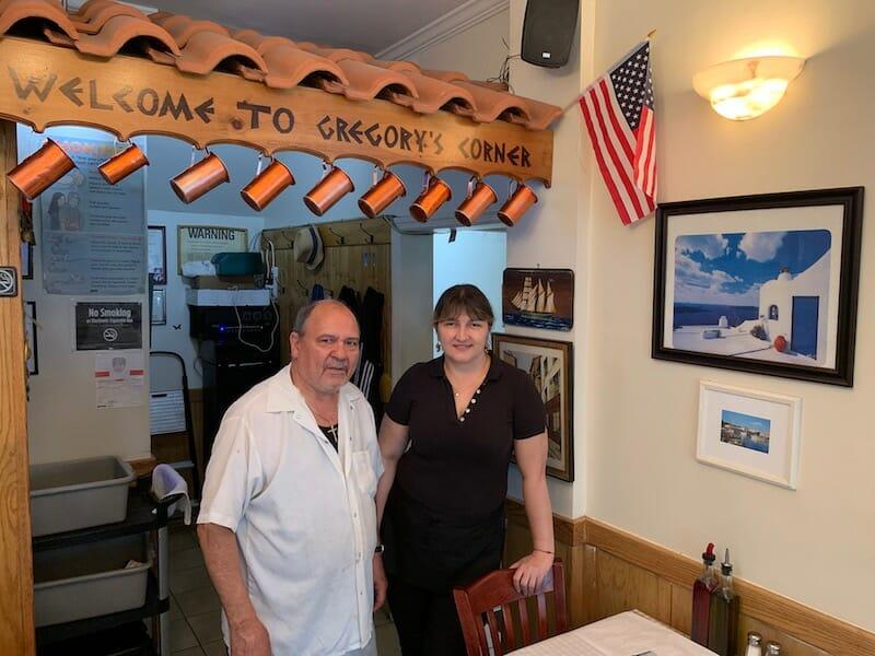 Gregory's Taverna, photo by Ike Allen