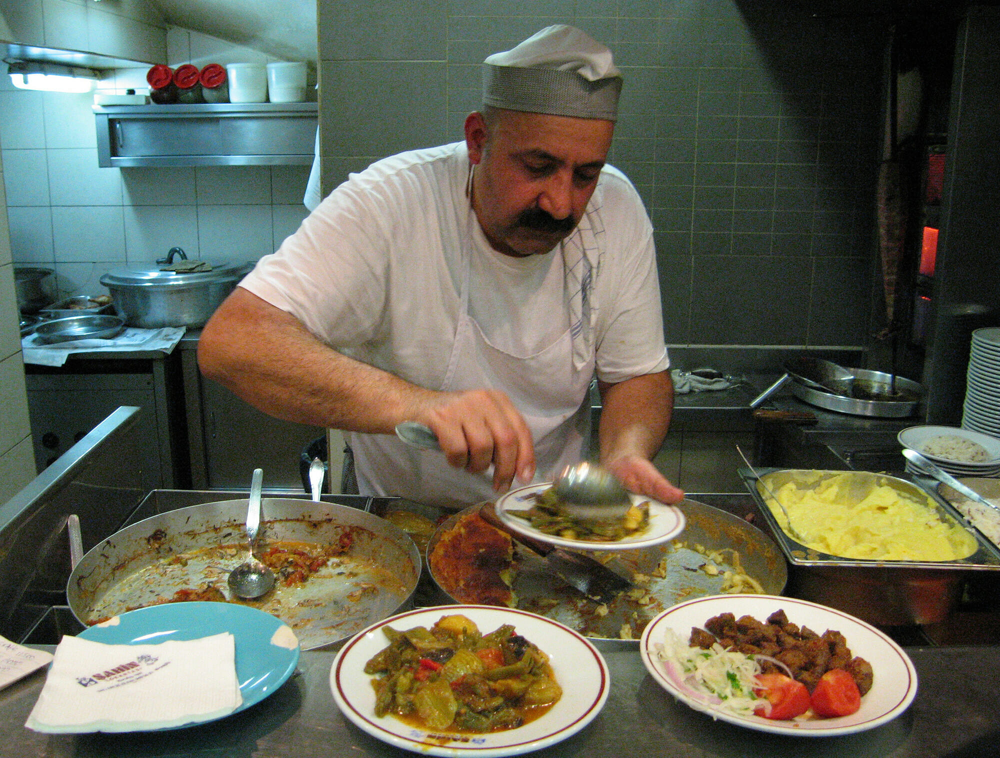 Istanbul online cooking class