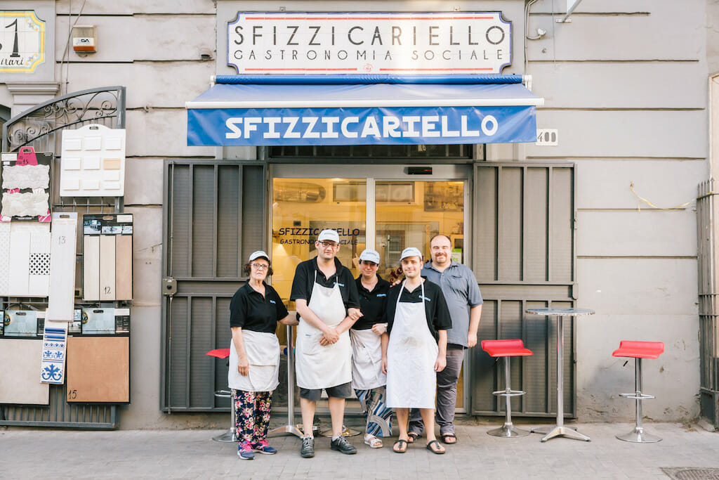 Sfizzicariello, photo by Gianni Cipriano