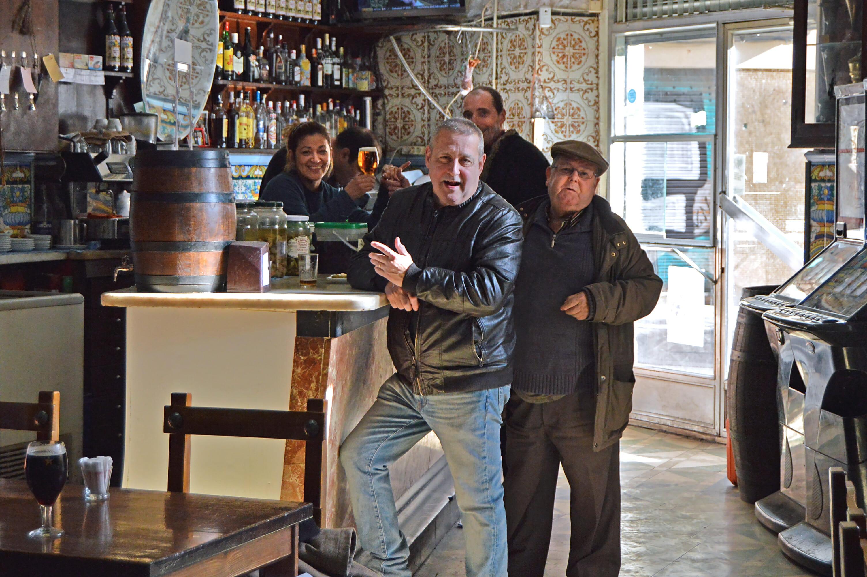sants food tour