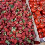 Seasonal Strawberries in Tbilisi