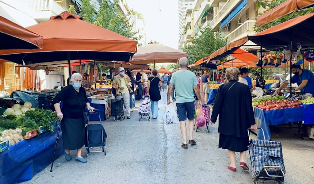 farmers' market athens