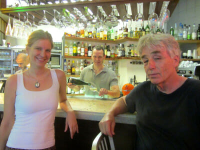 Chef Sandra Berten and John Higgins, owner of Mama Roux, photo by Diana Farr Louis