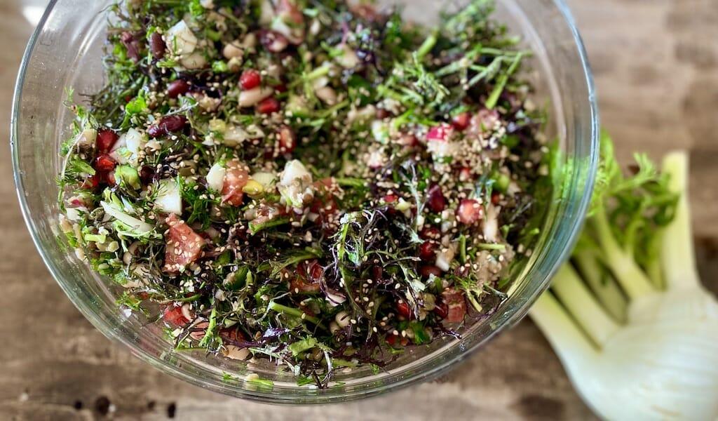 palikaria cretan epiphany salad