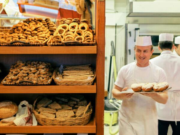 Pnyka bakery, photo by Manteau Stam