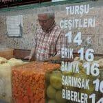 Choisissez votre cornichon à Istanbul