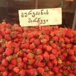 Strawberry Season in Tbilisi