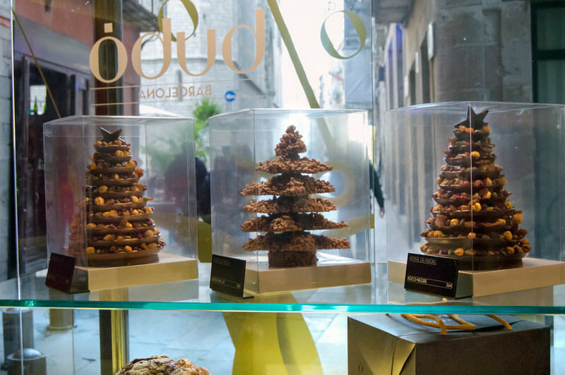 Holiday sweets at Bubó, photo by Paula Mourenza
