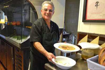 Chef Jaume Jovells of Can Pineda, photo by Paula Mourenza