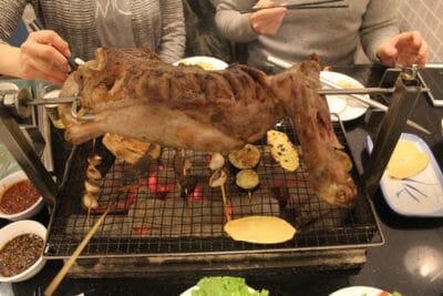 Tan Hua Roast Lamb Leg, photo by UnTour Shanghai