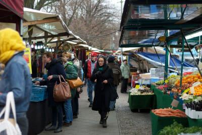 Berlin's Türkenmarkt, photo by Luisa Weiss