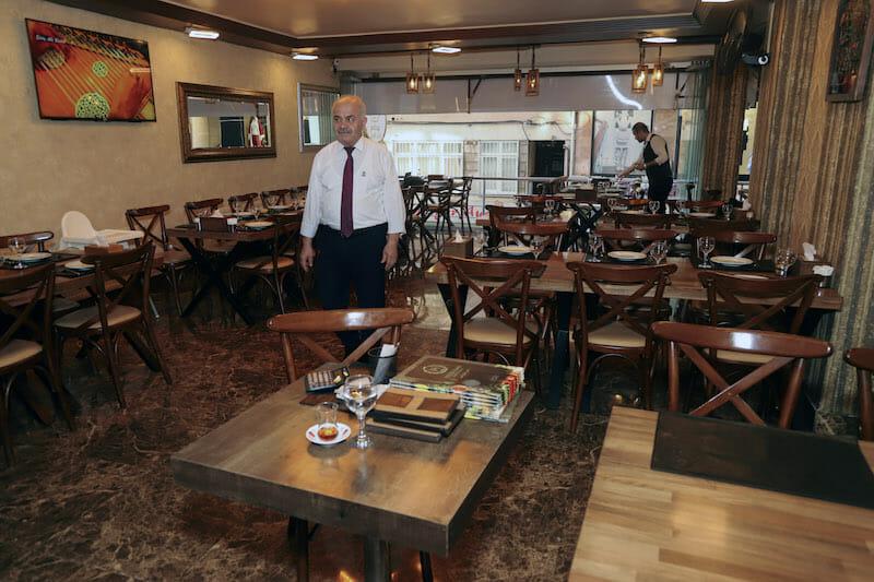 syrian restaurant istanbul
