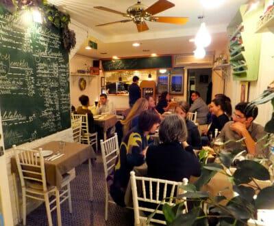 Şiraz, a creative Iranian restaurant in Kadıköy, photo by Roxanne Darrow