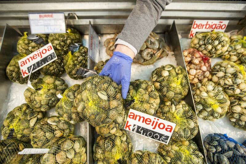 market lisbon seafood