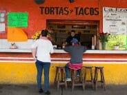 Street-side tacos and tortas.