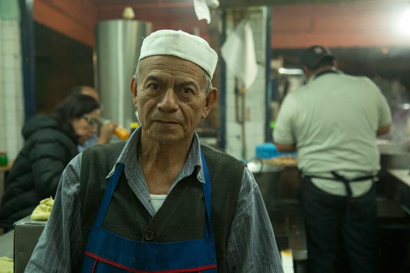 Tacos Beto's Heriberto García Flores, photo by Alejandro Erreguín