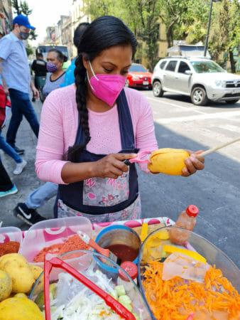 Ataulfo mango Mexico City