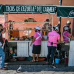 Tacos de Cazuela del Carmen Alto