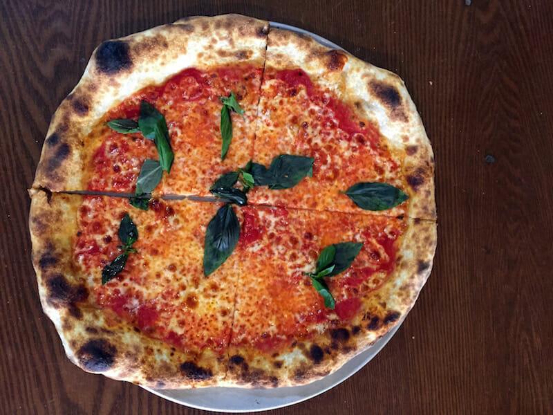 pizza at philomena's queens