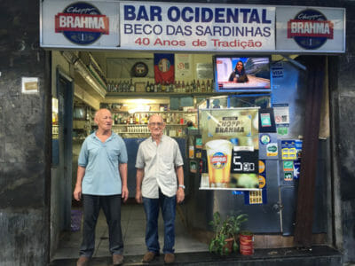 Bar Ocidental's Fernando and Eduardo Barbosa de Ascenção, photo by Danielle Renwick