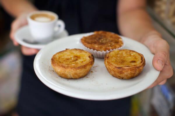 Casa Cavé's pastéis de nata, photo by Lianne Milton