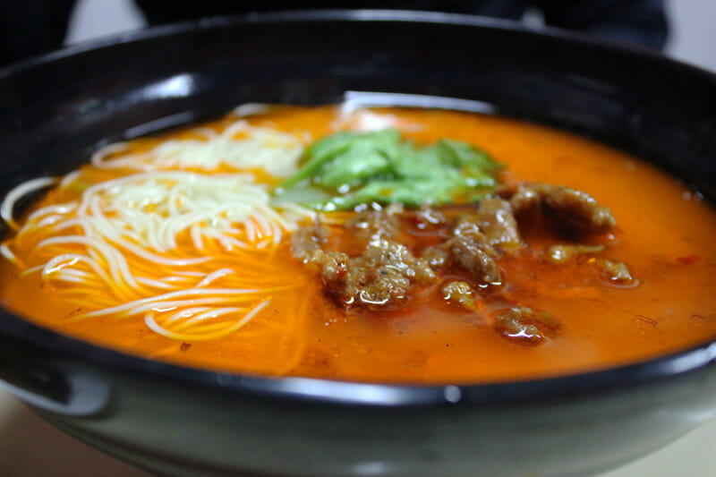 best noodles former french concession