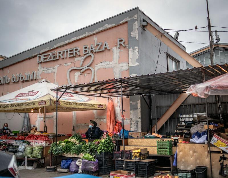 Deserter's Bazaar Tbilisi
