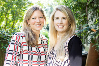 Caroline Eden and Eleanor Ford, photo by Laura Edwards