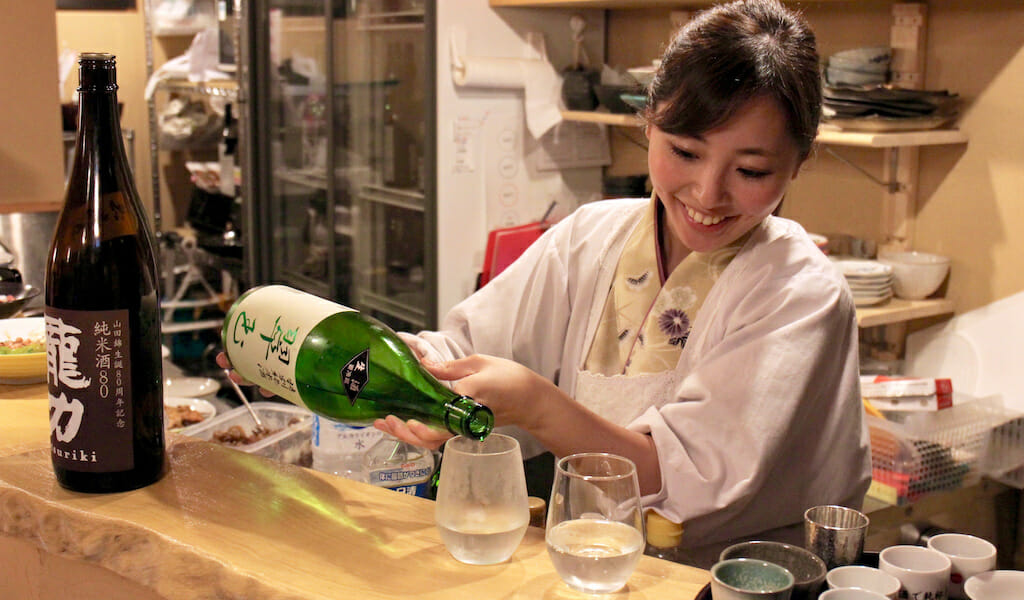 sake best restaurants tokyo