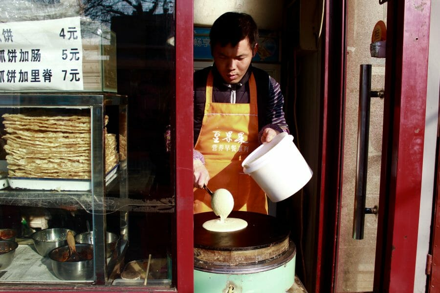 beijing breakfast tour