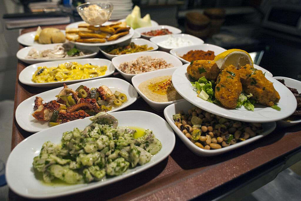 online cooking class istanbul meze