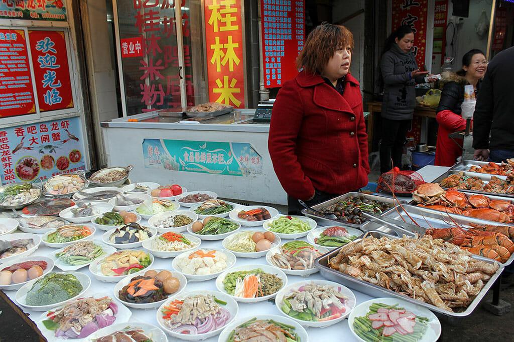Butcher in Shanghai, photo by UnTour Shanghai