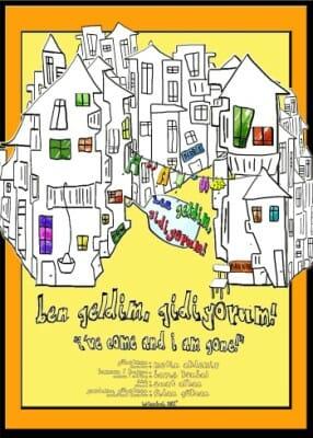 Poster for the film Ben Geldim Gidiyorum